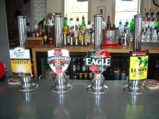 The Coach House: good beer in the bar