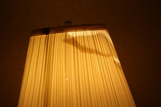 Motel 6 Omaha: the only light in the room that works