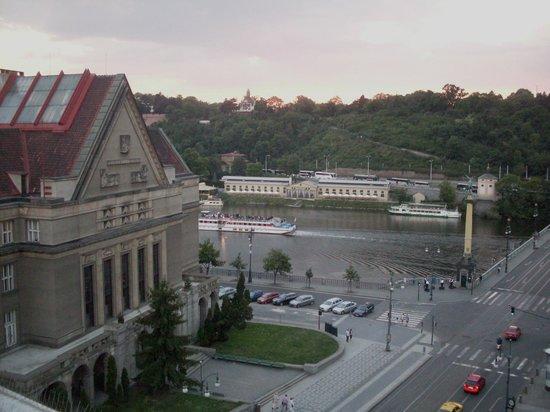 InterContinental Prague: Vista do terraço