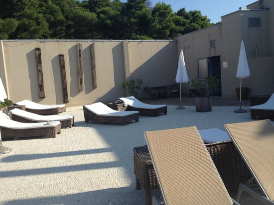 Hotel Dubrovnik Palace : On the top floor