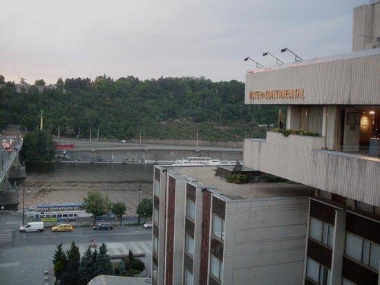 InterContinental Prague: Vista do terraço do hotel