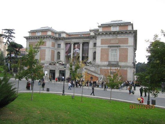 Ingresso Da Paseo Del Prado Picture Of Prado National