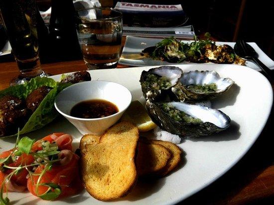 Hallam's Waterfront Restaurant: Share plate