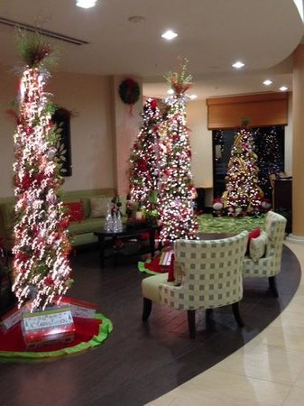 Fairfield Inn & Suites Elkin Jonesville : more lobby decorations