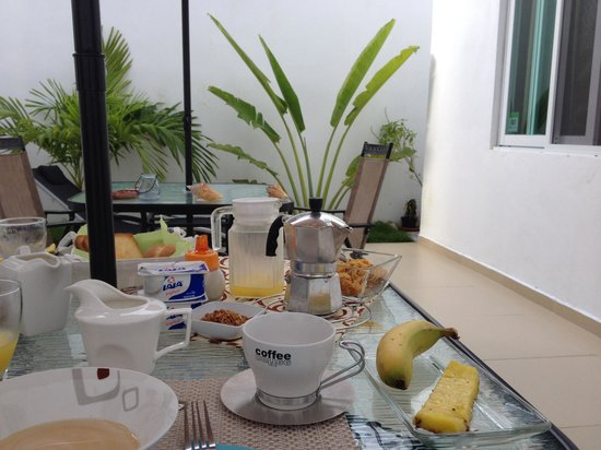 Casa Felicidad B&B: Amazing breakfay