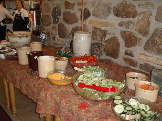 The Skillet Restaurant: Salad bar @ Thanksgiving buffet