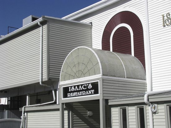 Isaac's on the Waterfront: Entrance to the Restaurant