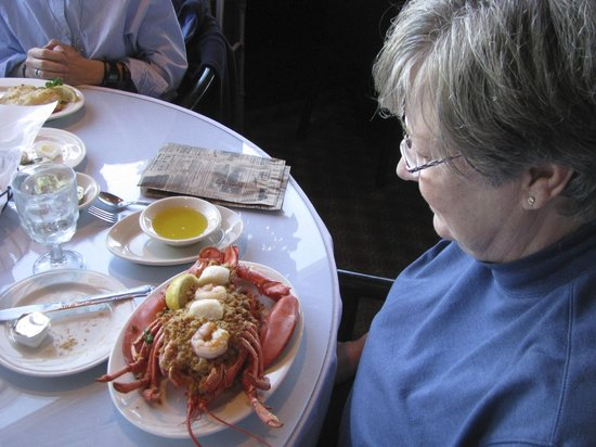 Isaac's on the Waterfront: Lobster Meal