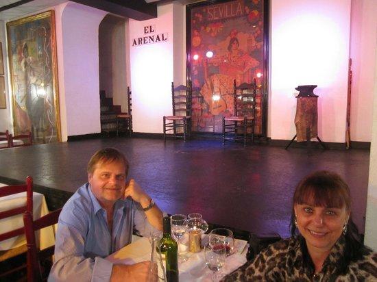 Tablao Flamenco El Arenal : Um noite muito agradável.