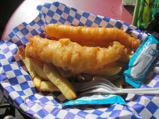 The Codmother Fish & Chips: Junior Fish & Chips