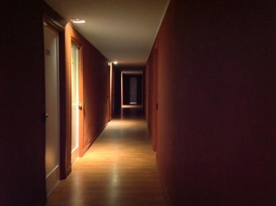 Hotel San Marcos : pasillos oscuros