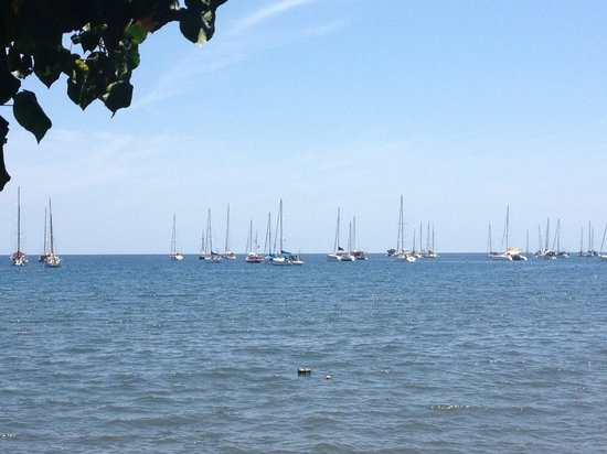 Spice Beach Club : during sail 2013