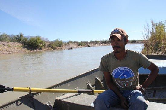 Big Bend National Park: Boquillas International Ferry Captain