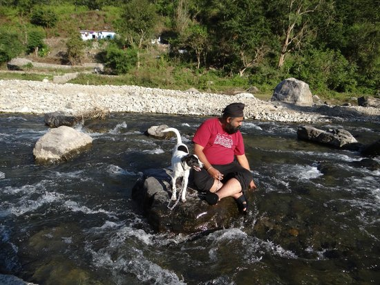 Rishikesh Valley: Me and my Baby Dog