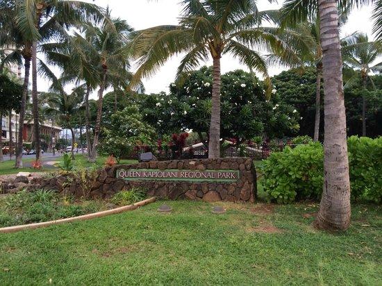 Kapiolani Park: Park