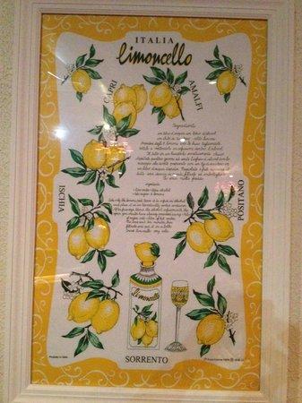 Villa Romana: Picture on Wall