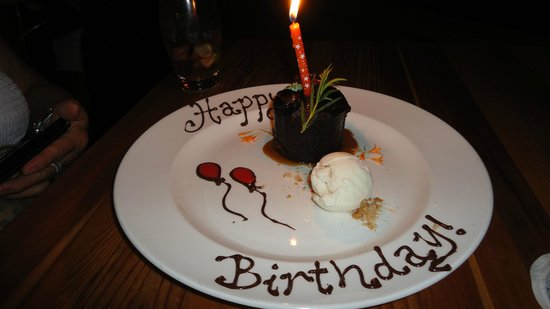 North Bar and Kitchen: Birthday Surprize