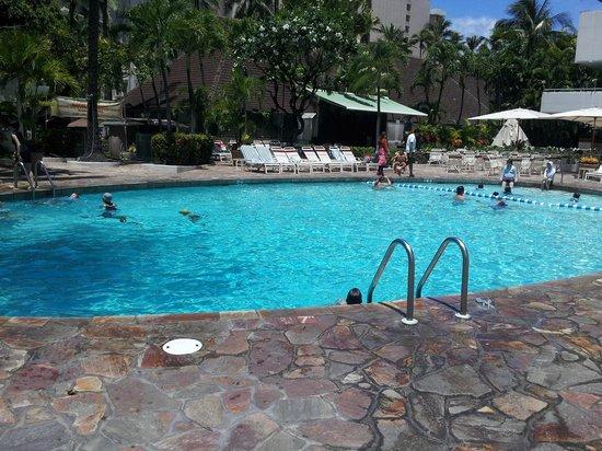 Sheraton Princess Kaiulani : Pool area