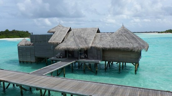 Gili Lankanfushi Maldives: View of the villa opposite ours on Jetty 3