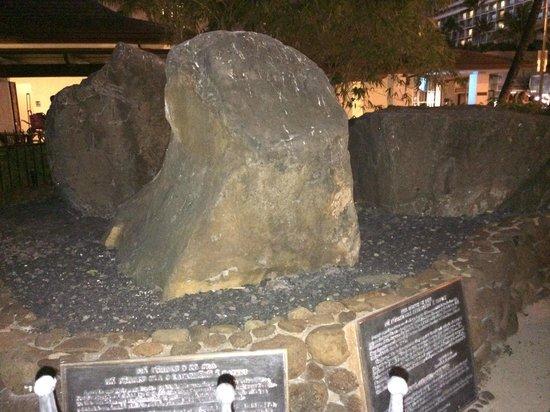 The Wizard Stones on Waikiki