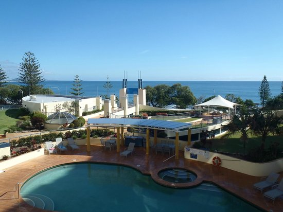 Mantra Mooloolaba Beach Resort: view from our room