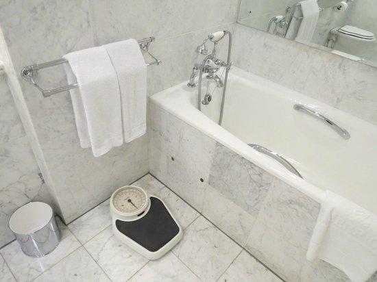 The Merrion Hotel: Soaking tub- Room 1