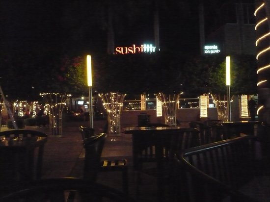 Las Palmeras: View from the table