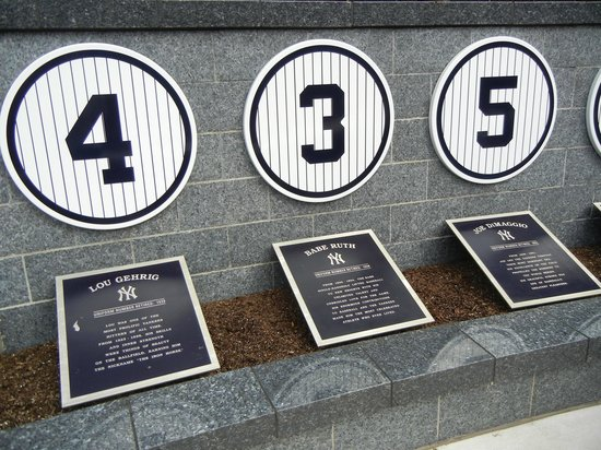 Babe Ruth Jersey Yankee Stadium Museum Picture Of The