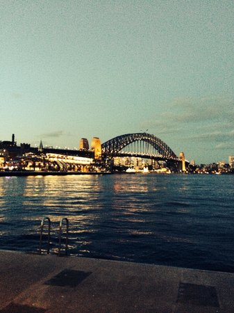 Sydney Ferries: View of Circular Quay from the ferry