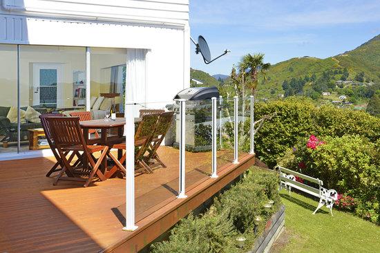 Grandvue Bed & Breakfast : Grandvue deck