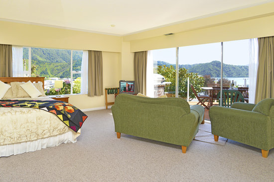 Grandvue Bed & Breakfast: Room with a view