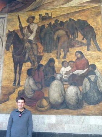 Murales de Diego Rivera en la Secretaría de Educacion Publica: Rural Teacher