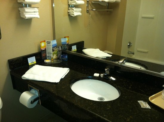 Days Inn & Suites Lakeland : Bathroom