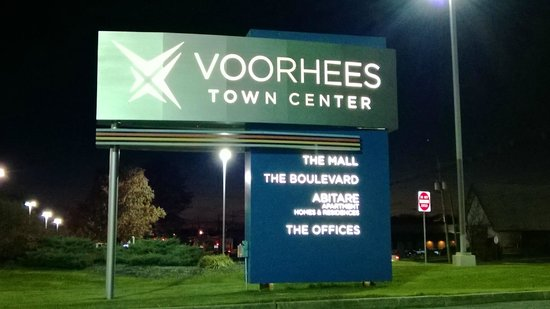 Voorhees, NJ: Welcome sign