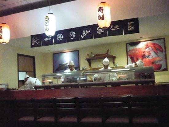 Restaurante Sushi Excelencia: Sushi bar