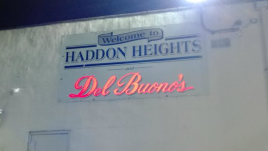 Del Buono's Bakery sign