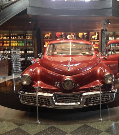 Francis Ford Coppola Winery: The actual tucker car used in his movie.