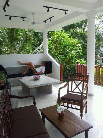 Unawatuna Nor Lanka Hotel : Heerlijk relaxen.
