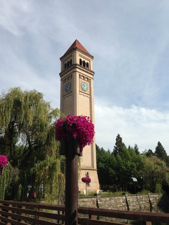 Downtown Spokane : Clock Tower