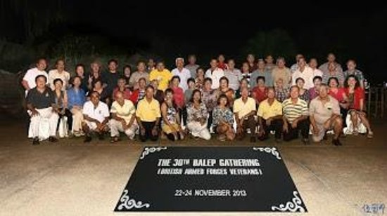 The Royale Bintang Resort & Spa Seremban: Our group at Barefoot Poolside Terrace