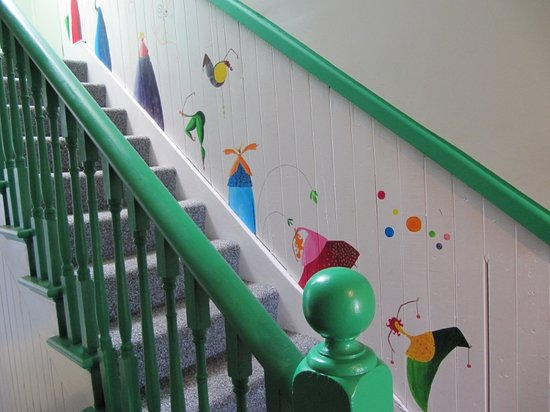 The Art House Backpackers: Wall Art