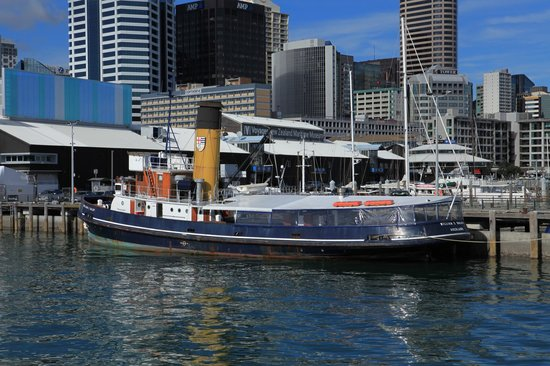 Fullers Auckland Harbour Cruise: Maritime History, Auckland Harbour
