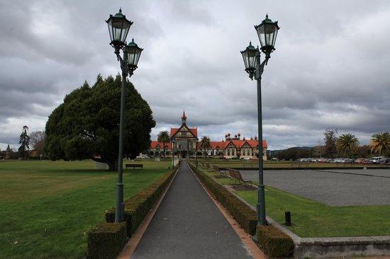 Museo Rotoura: Entry to Rotorua museum