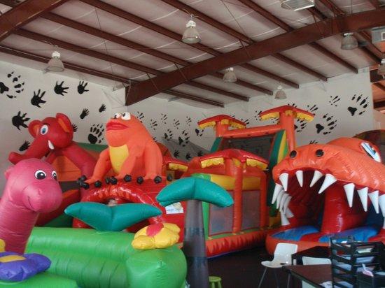 Kangaroo Zoo: Dozens of Bouncy Structures