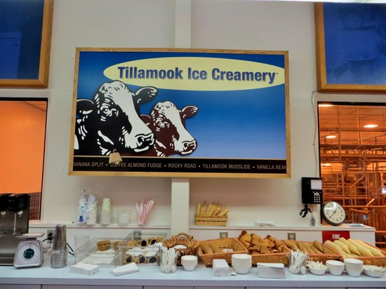 Tillamook Cheese Factory : Ice cream