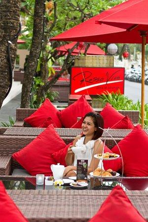 Kuta Seaview Boutique Resort & Spa: Afteroon tea
