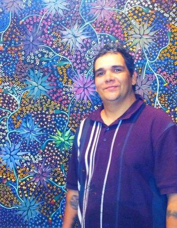 แอร์ลีบีช, ออสเตรเลีย: Buntha Whitsunday opals and didgeridoos artist