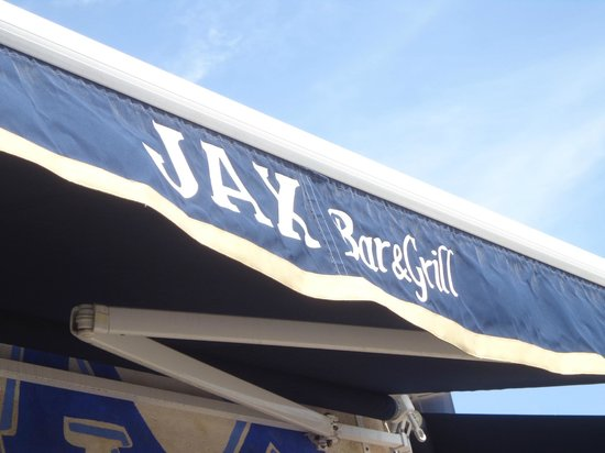 JAX Bar & Grill: sign