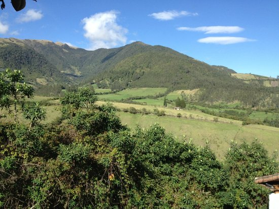 Casa Mojanda views.