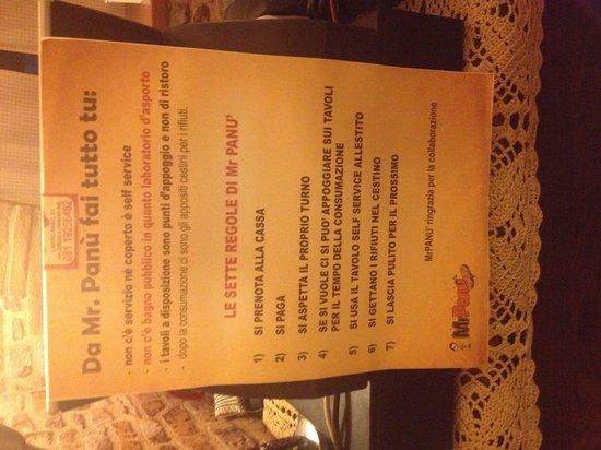 San Giorgio a Cremano, Italie : Le regole di panù